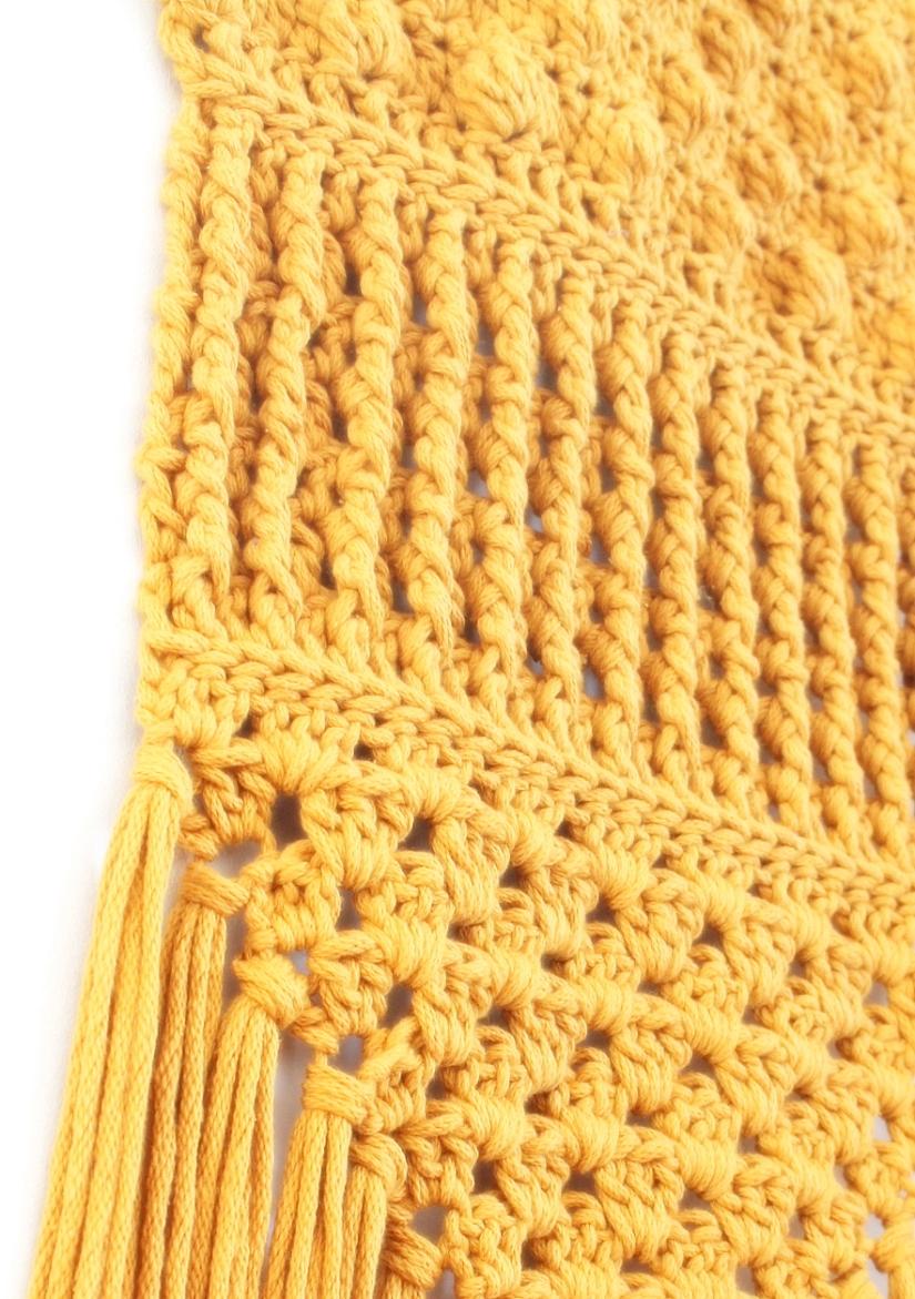 Wandhanger 4 - chunky coton